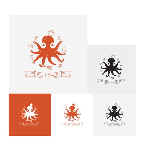 Logo concept for home chef