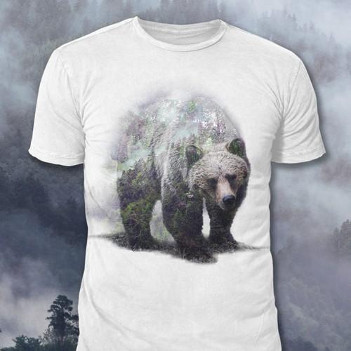 Overlay Bear Design