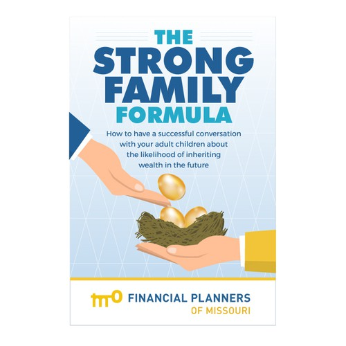 Book cover design for financial planning
