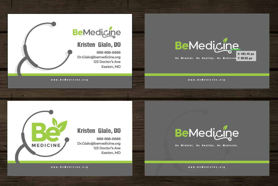 Design a natural, organic, inviting medical practice logo that appeals to men and women