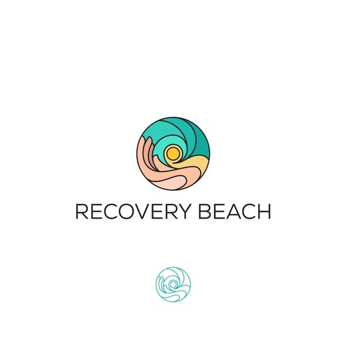 A luxury logo drug and alcohol treatment center in Southern California