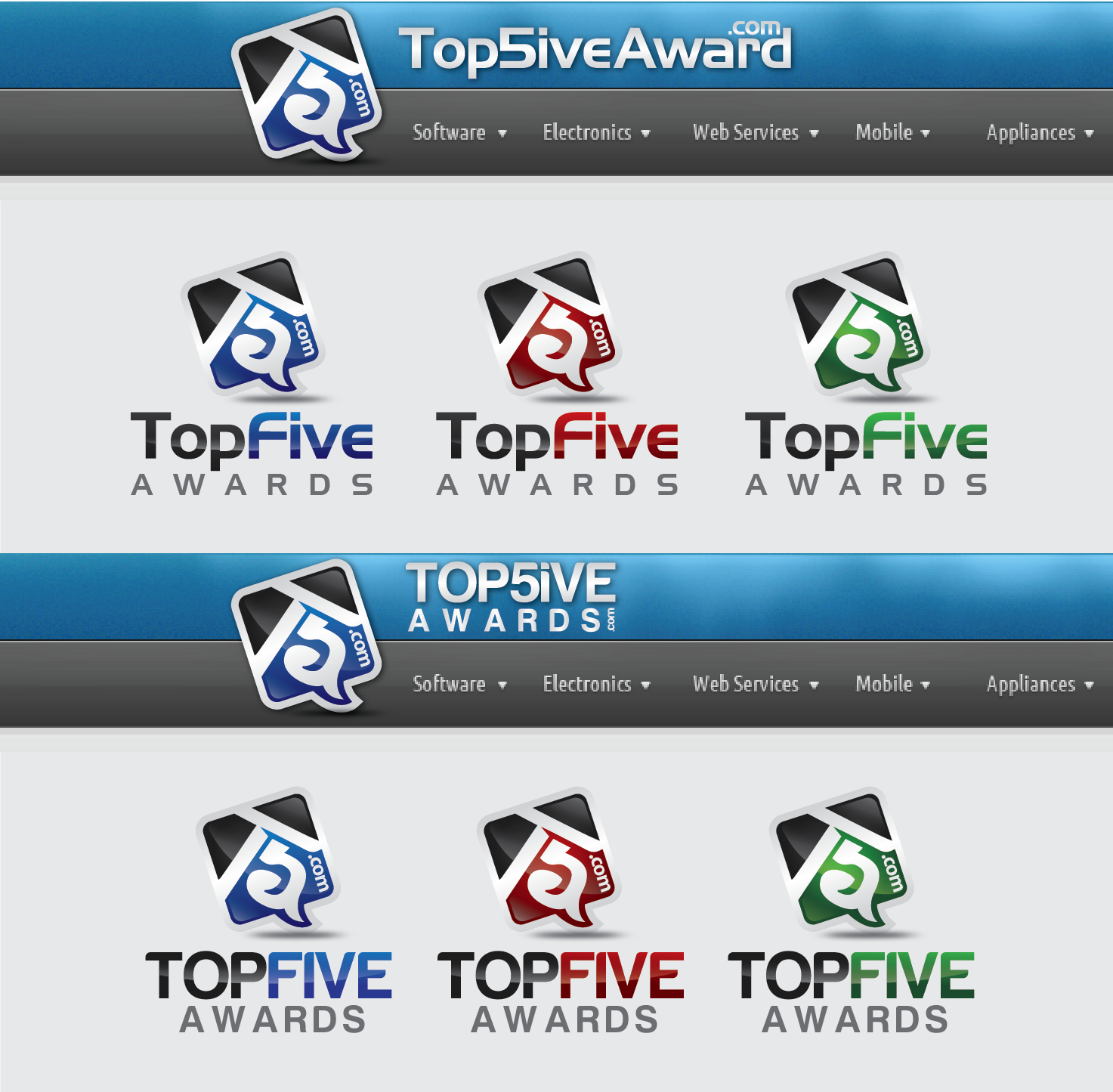 Our BRAND Needs You! TopFiveAwards Logo and Business Card Needed! + $349 Bonus Offer for MASCOT