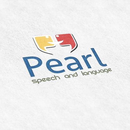 Logo for language course