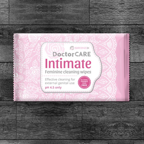 Antibacterial intimate Doctor Care wet wipes
