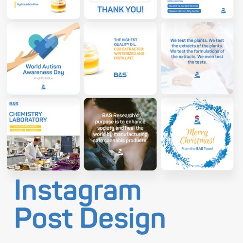 Instagram Post Design - Content Strategy / Graphic Design / 1-to-1 Interactions