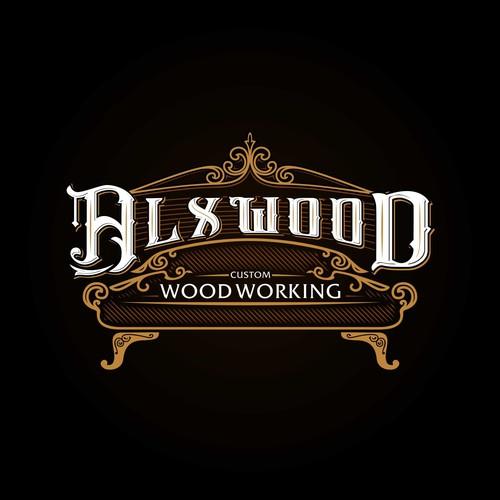 Wood Working Furniture Logo