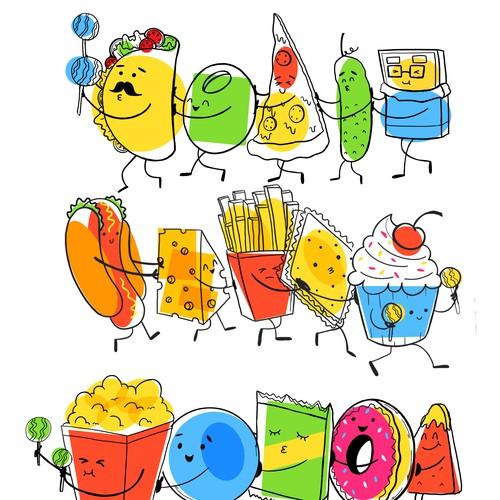 Food food conga