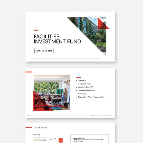 Facilities Investment Fund Presentation dessign