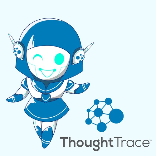 Design a character named ALI that personifies our Artificial Intelligence (AI) app