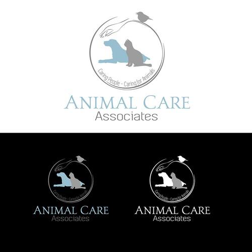 Logo concept for animal care