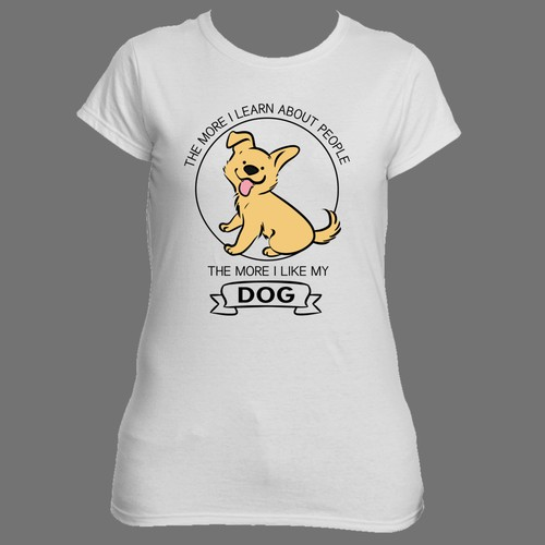 dog t shirt design