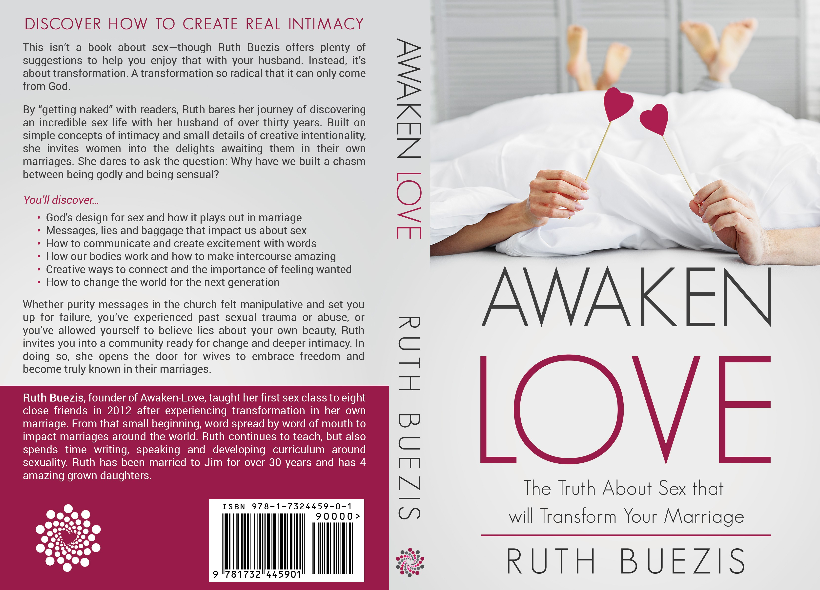Paper back book cover and ebook for Awaken-Love
