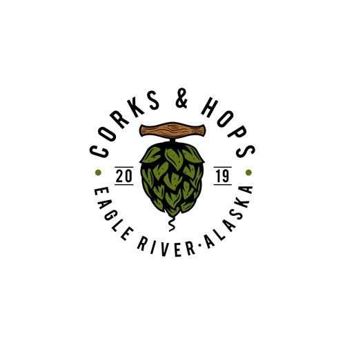 Corks & hops. bar