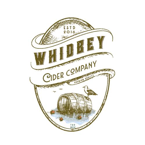Logo for cider company
