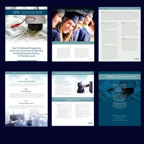 Financial advisors brochure