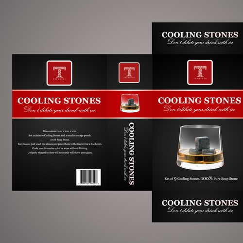 Cooling Stones Packaging