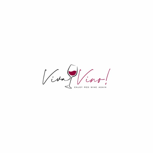 Logo design for viva vino!