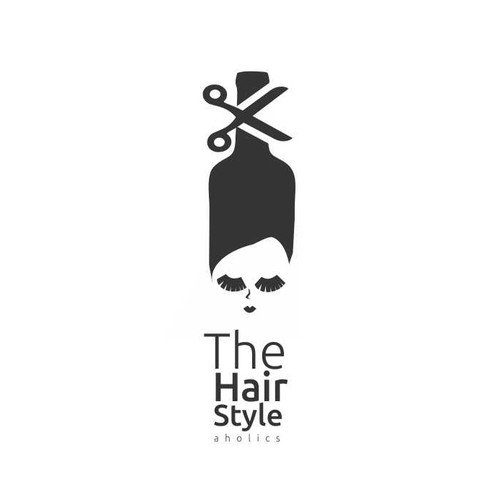 logo for The HairStyleAholics