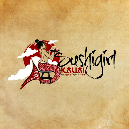 Design a logo for SUSHIGIRL Kauai and win paradise!