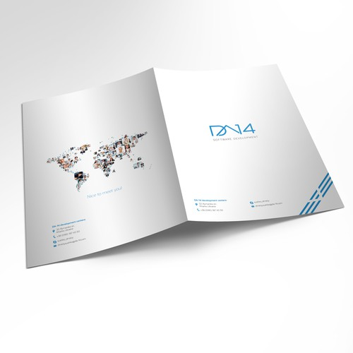 Brochure for software development company