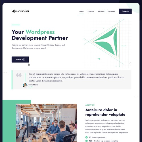 WordPress Design template