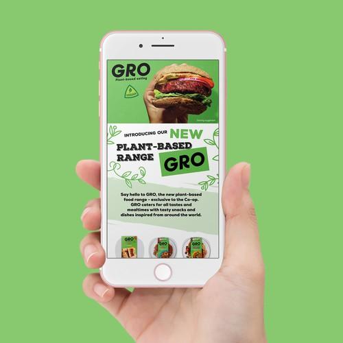 Co-op Vegan Gro Email