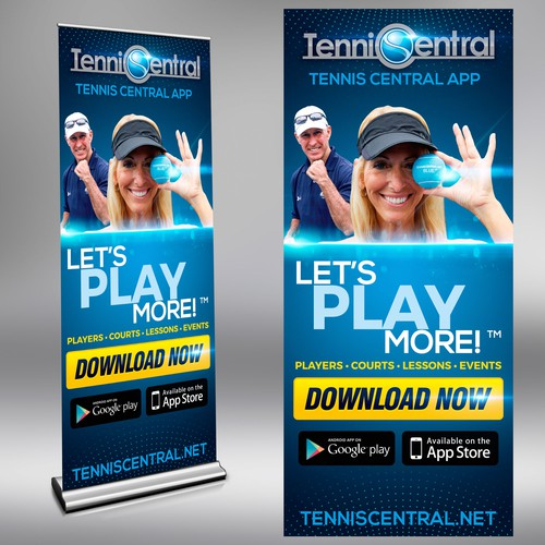 POSTER APP TENNIS CENTRAL