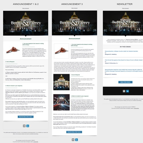 MailChimp Email Marketing Project
