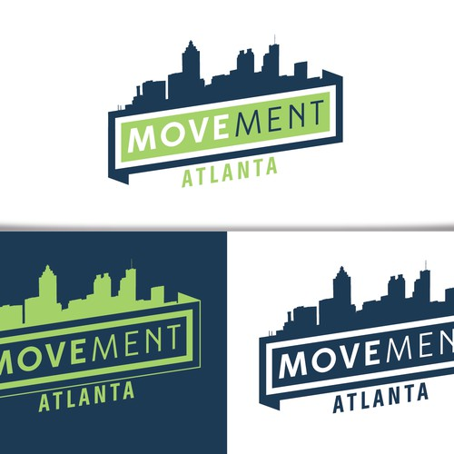 Create a innovative logo for a forward-thinking fitness organization