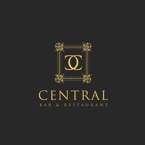 Elegant logo design concept for Central