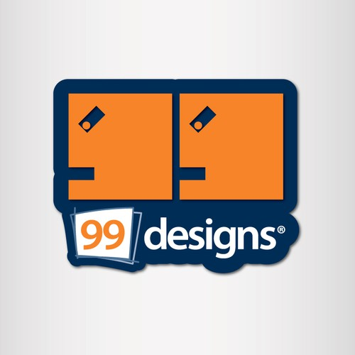 Sticker Needed for 99designs.com