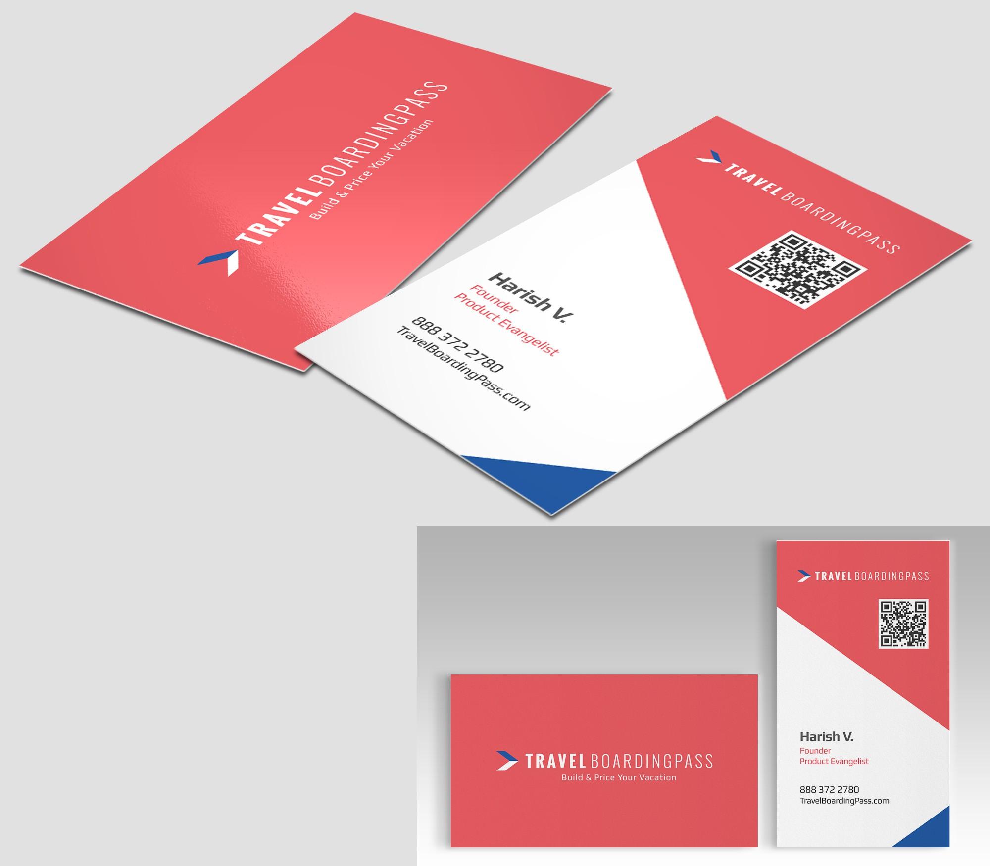 Design an STUNNING business card for Travelboardingpass.com