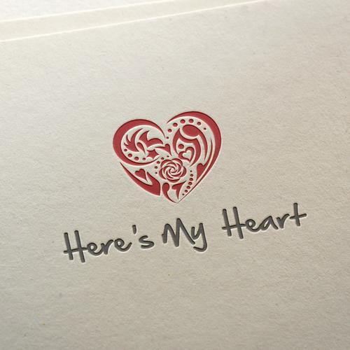 Here's my heart logo
