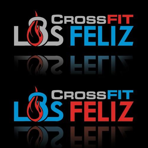 Create a stunning logo design for CrossFit Los Feliz