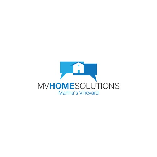 Create a logo for a luxury home services company