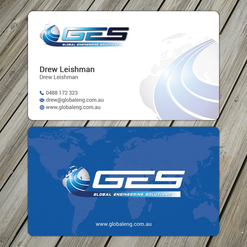 Business Cards for Fuel Tank Company