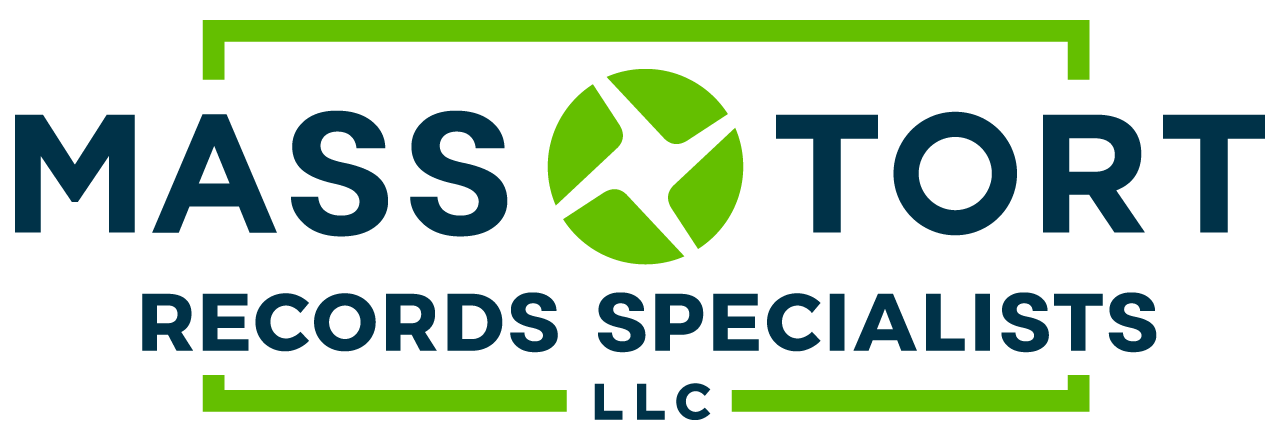 Contemporary mass tort records service providing specialized records acquisition