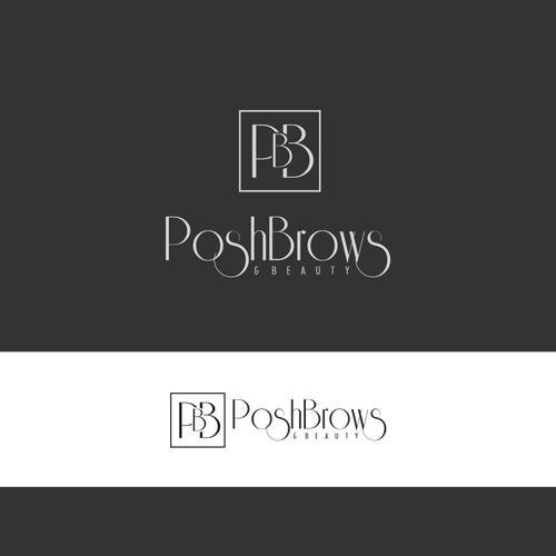 logo Posh Brows & Beauty