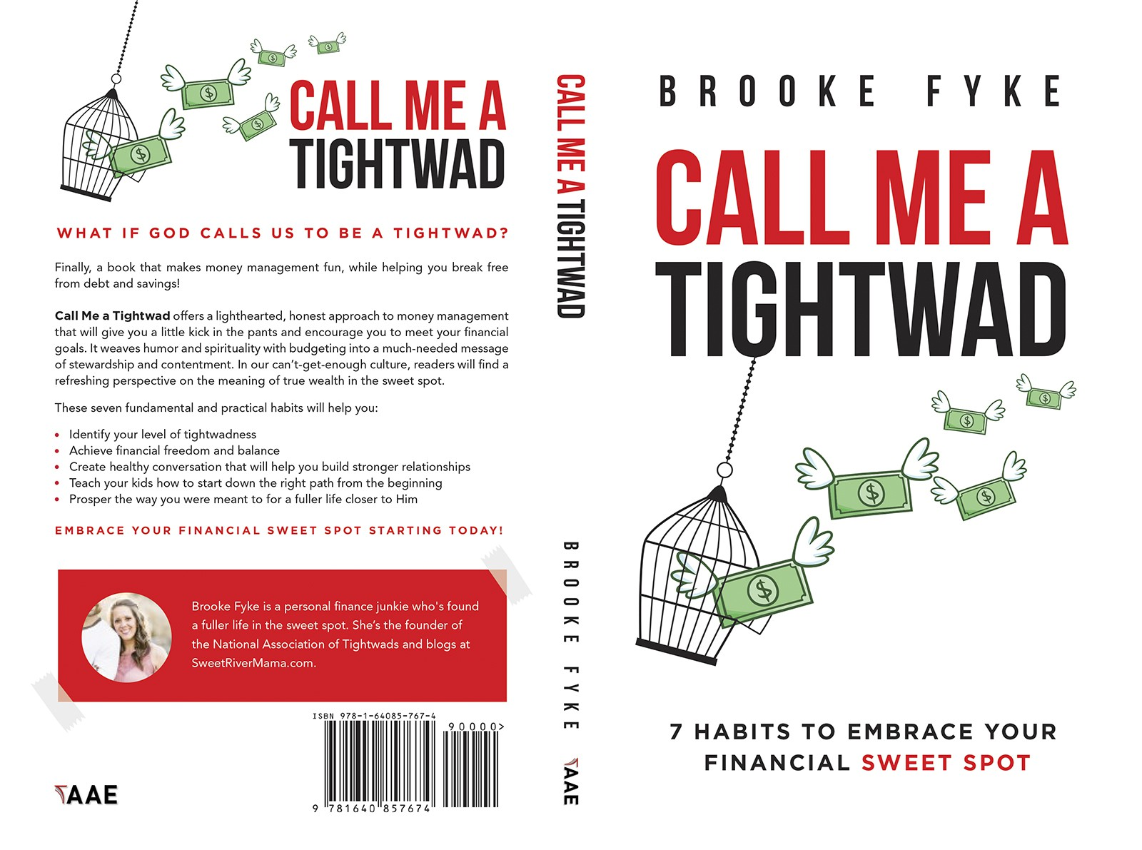 'Call Me a Tightwad' book needs a cover!