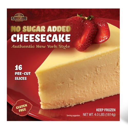 Gourmet Cheesecake Package Design