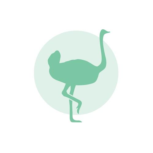 Logodesign «Kopf aus dem Sand» Stressmanagement und Potentialentfaltung
