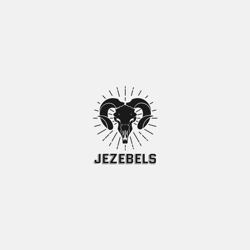 Logo Design for Jezebels Bar