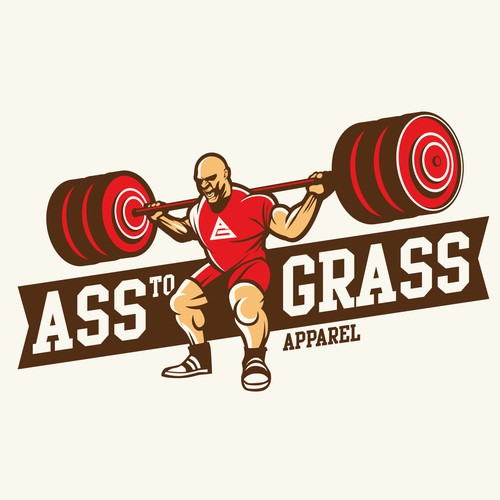 weight lifting logo