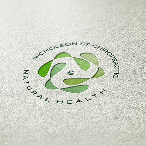 Abstract logo for chiropractic company