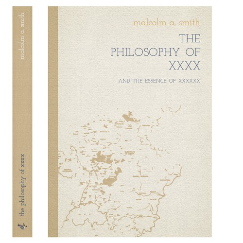 minimalist philosophy book cover