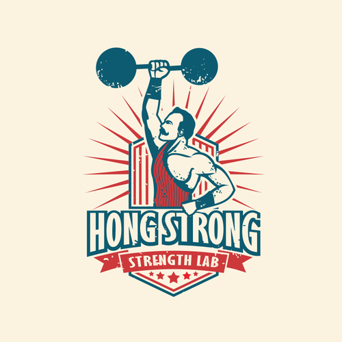 Brand & define a tough/vintage Strength & Conditioning Gym w/ an innovative logo for use on apparel!