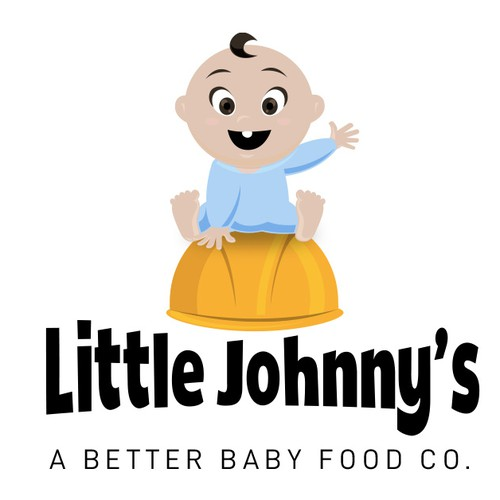 Logo Concept For Little Johnny's Baby Food Co