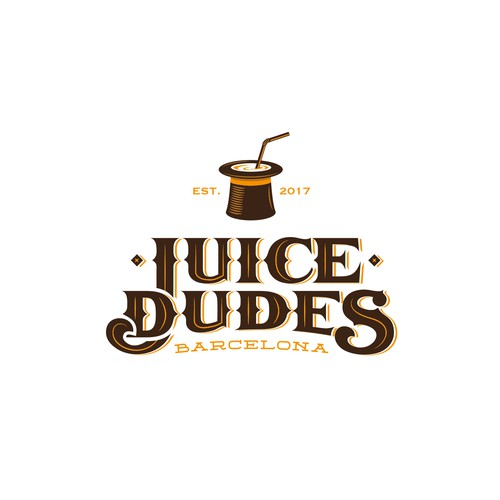 Logo for Juice Bar in Barcelona