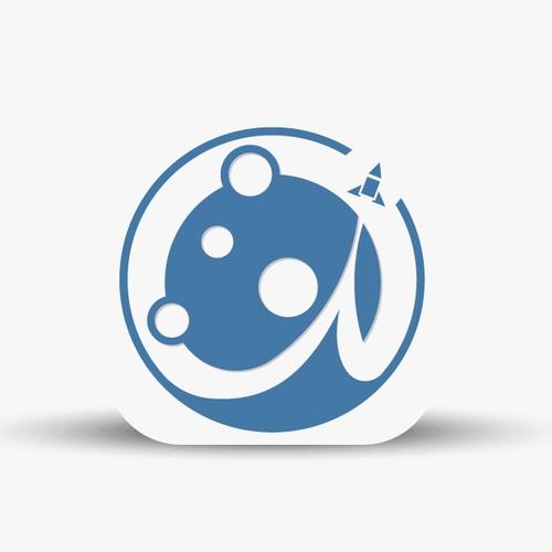 Flat App Icon for Lunar