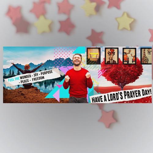 Facebook banner design for contest